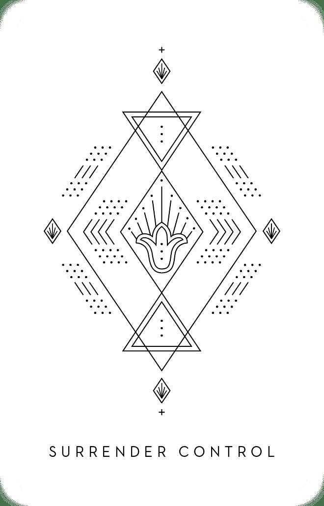 Surrender Control - Inner Star Oracle Deck - The Darling Tree