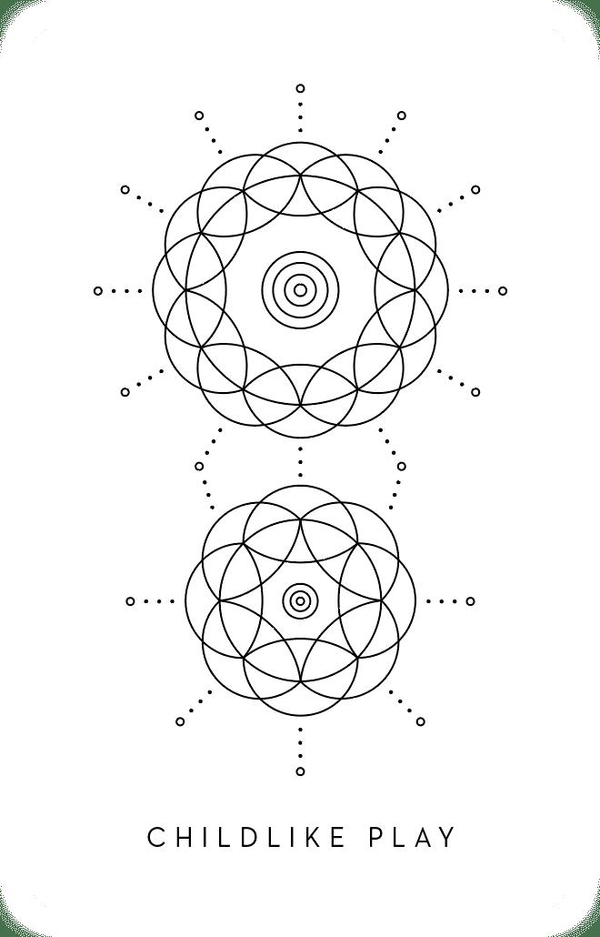 Childlike Play - Inner Star Oracle Deck - The Darling Tree