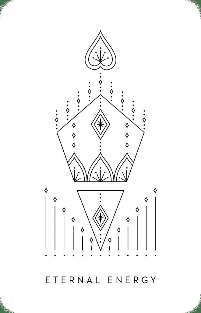 Eternal Energy - Inner Star Oracle Deck - The Darling Tree