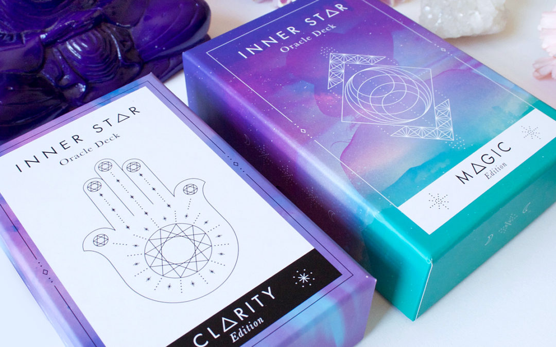 Launching my oracle deck with Kickstarter