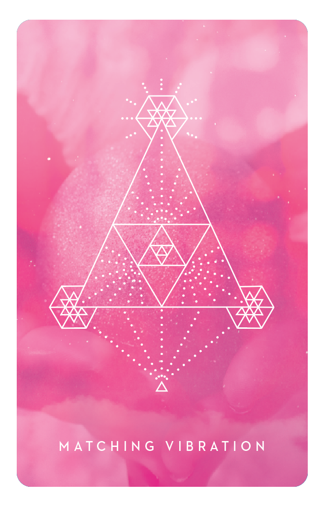 Matching Vibration - Inner Star Oracle Deck - The Darling Tree
