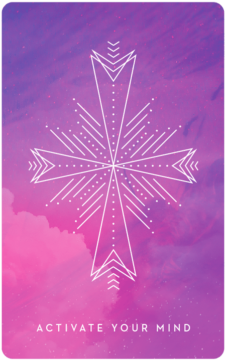 Activate Your Mind - Inner Star Oracle Deck - The Darling Tree
