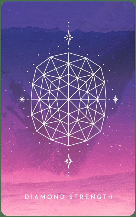 Diamond Strength - Inner Star Oracle Deck - The Darling Tree