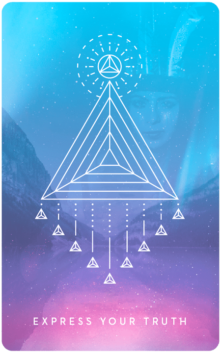 Express Your Truth - Inner Star Oracle Deck - The Darling Tree