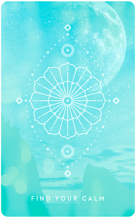 Find Your Calm - Inner Star Oracle Deck - The Darling Tree