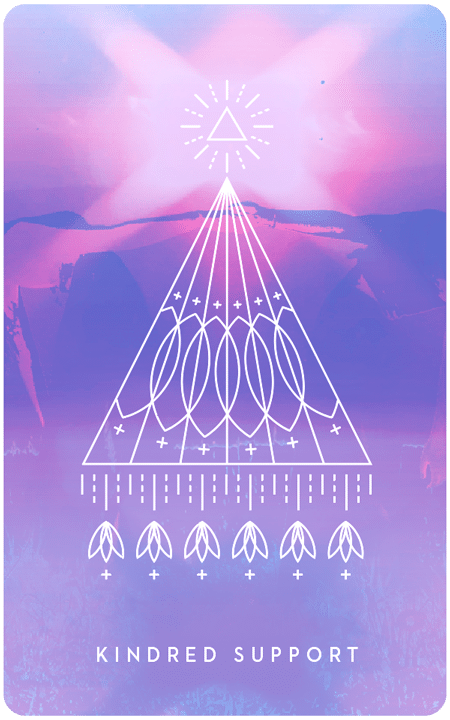 Kindred Support - Inner Star Oracle Deck - The Darling Tree