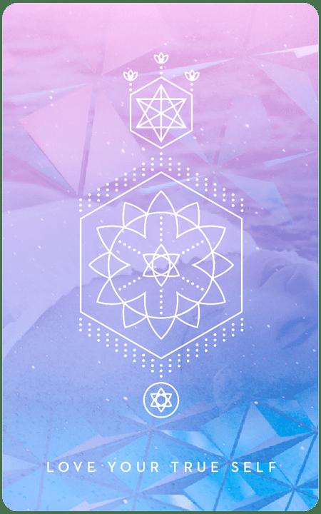 Love Your True Self - Inner Star Oracle Deck - The Darling Tree