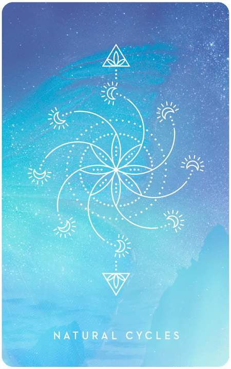 Natural Cycles - Inner Star Oracle Deck - The Darling Tree