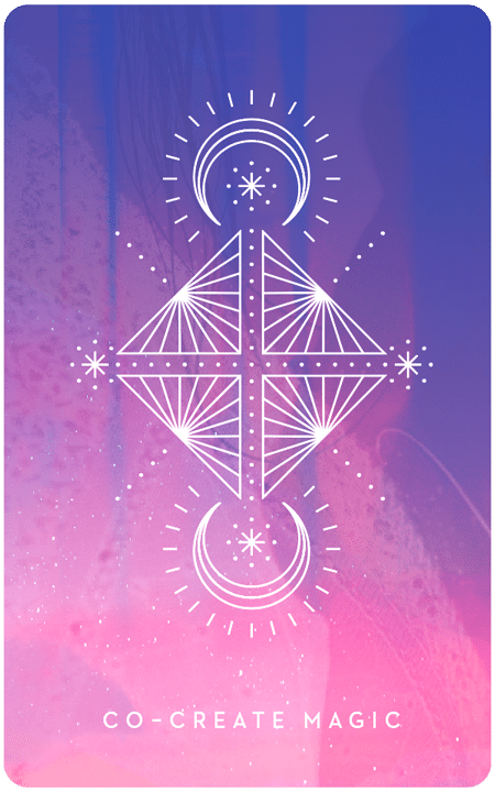 Co-create Magic - Inner Star Oracle Deck - The Darling Tree