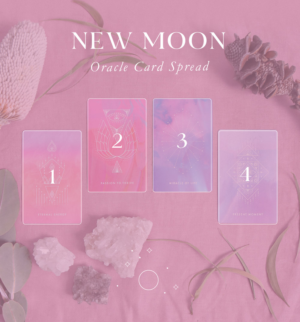 New Moon Card Spread | The Darling Tree